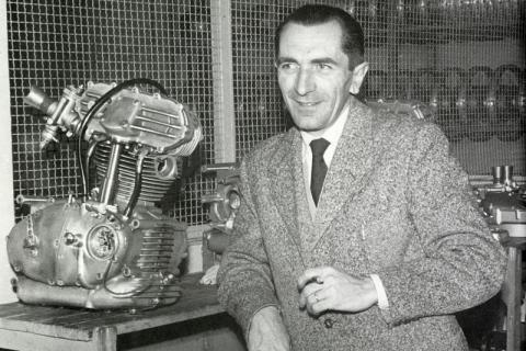 Histoire de la moto. FabioTaglioni_trialbero_0